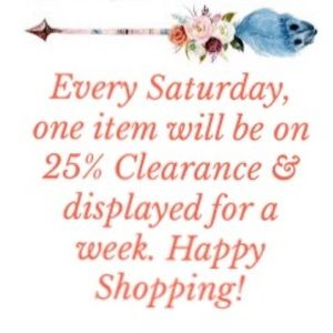 🌸 WEEKLY CLEARANCE 🌸